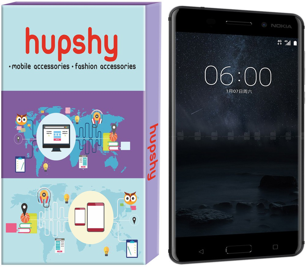 Hupshy Tempered Glass Guard for Nokia 6