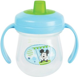 The First Year Disney Mickey Soft Spout Tranier Cup(Multicolor)
