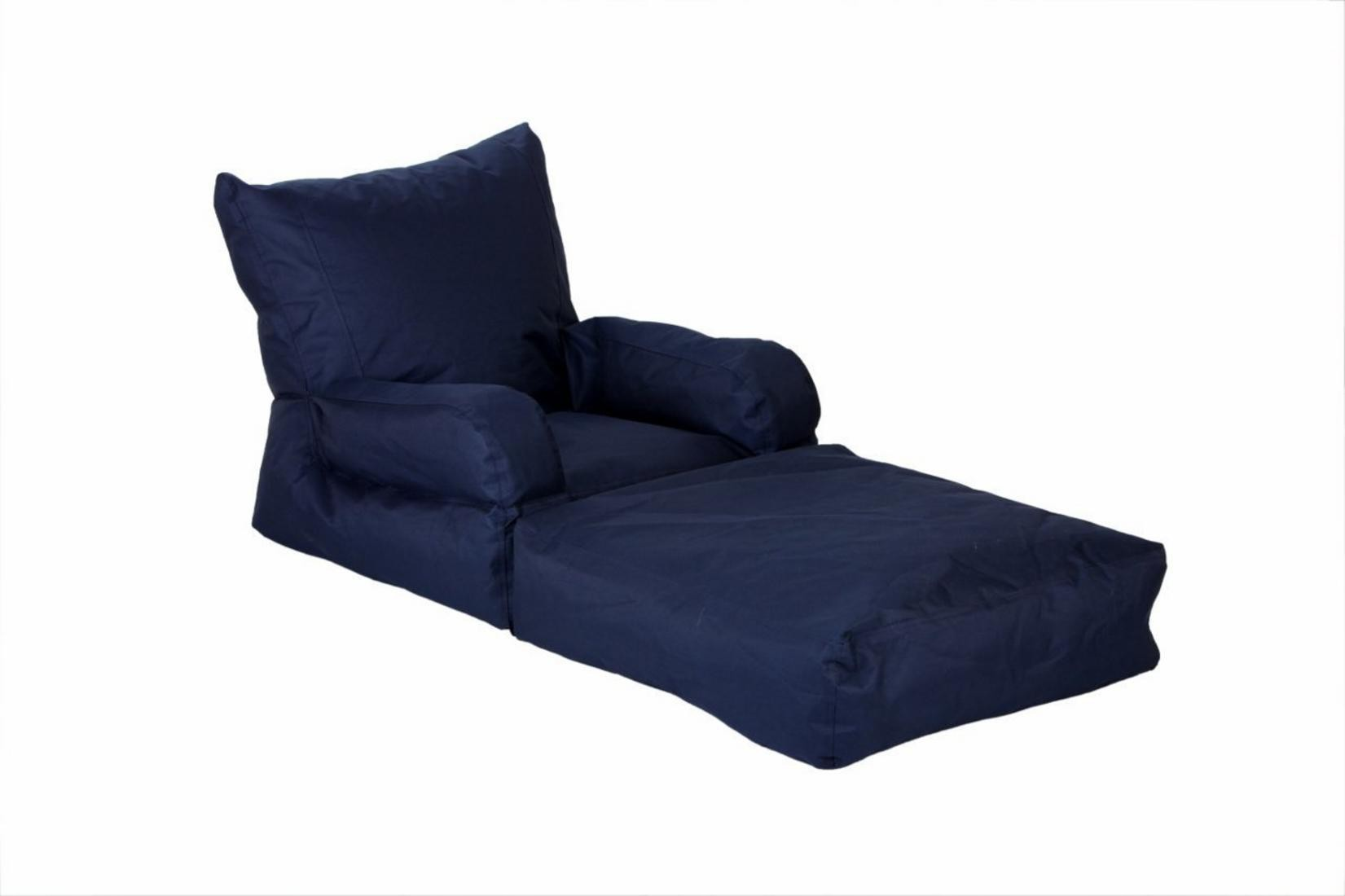 View Ink Craft Large Lounger Bean Bag Cover(Blue) Furniture (InkCraft)