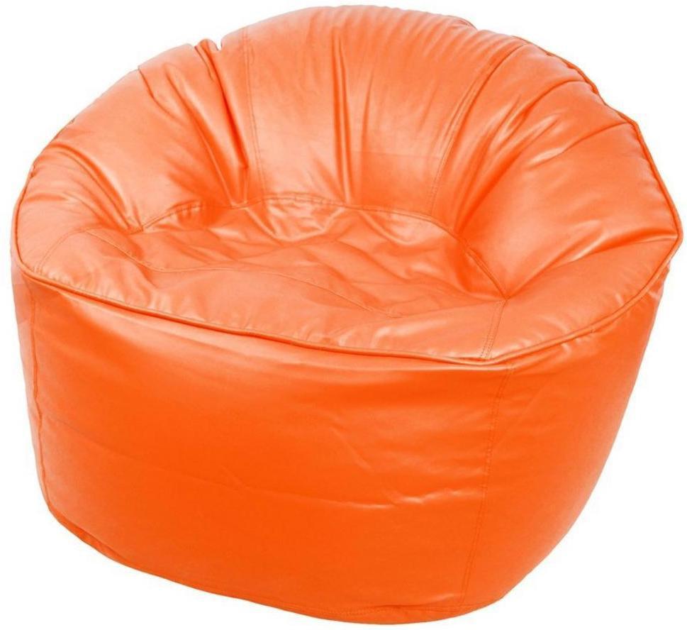 View Ink Craft XXXL Bean Chair Cover(Orange) Furniture (InkCraft)