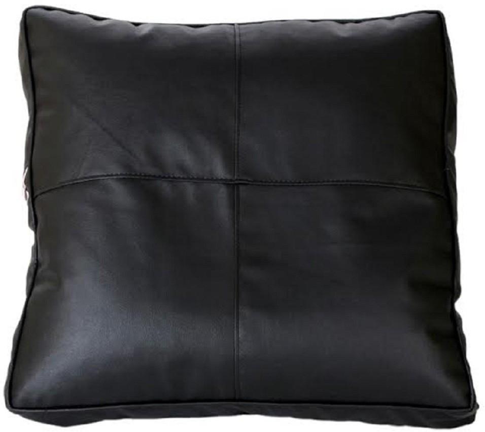 View Ink Craft Medium Bean Cube Cover(Black) Furniture (InkCraft)