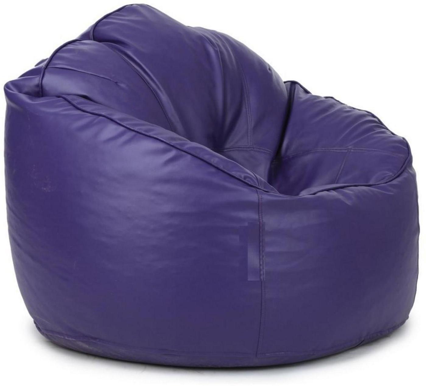 View Ink Craft XXXL Bean Chair Cover(Purple) Furniture (InkCraft)