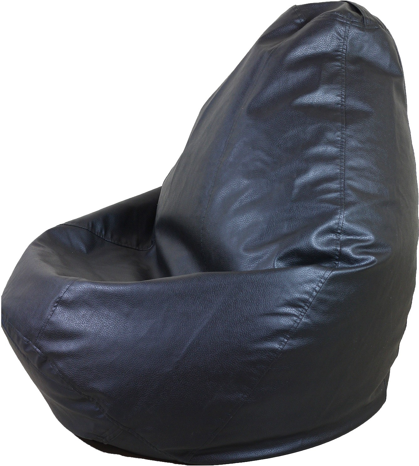 View Gabbroo XXL Bean Bag  With Bean Filling(Black) Furniture (Gabbroo)
