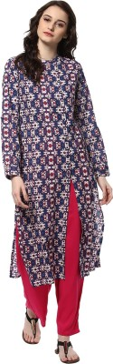 Jaipur Kurti Women's Kurta and Palazzo Set at flipkart