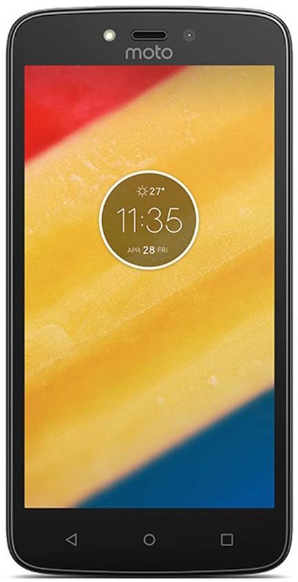View Moto C (Starry Black, 16 GB)(1 GB RAM) Mobile Price Online(Motorola)