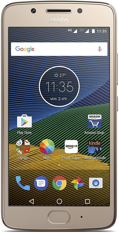 View Moto G5 (Fine Gold, 16 GB)(3 GB RAM) Mobile Price Online(Motorola)