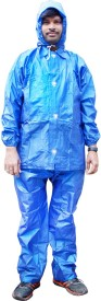 BRC Duckback Solid Boys & Girls Raincoat