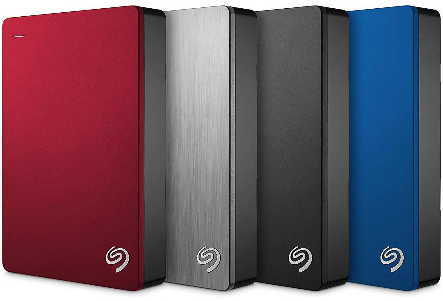 View SEAGATE 5 TB External Hard Disk Drive with  100 GB  Cloud Storage(Blue) Price Online(Seagate)