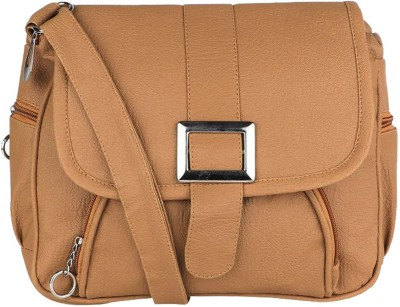 Yours Luggage Sling Bag(Brown)