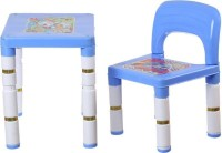 Variety Gift Centre Plastic Desk Chair(Finish Color - Blue)