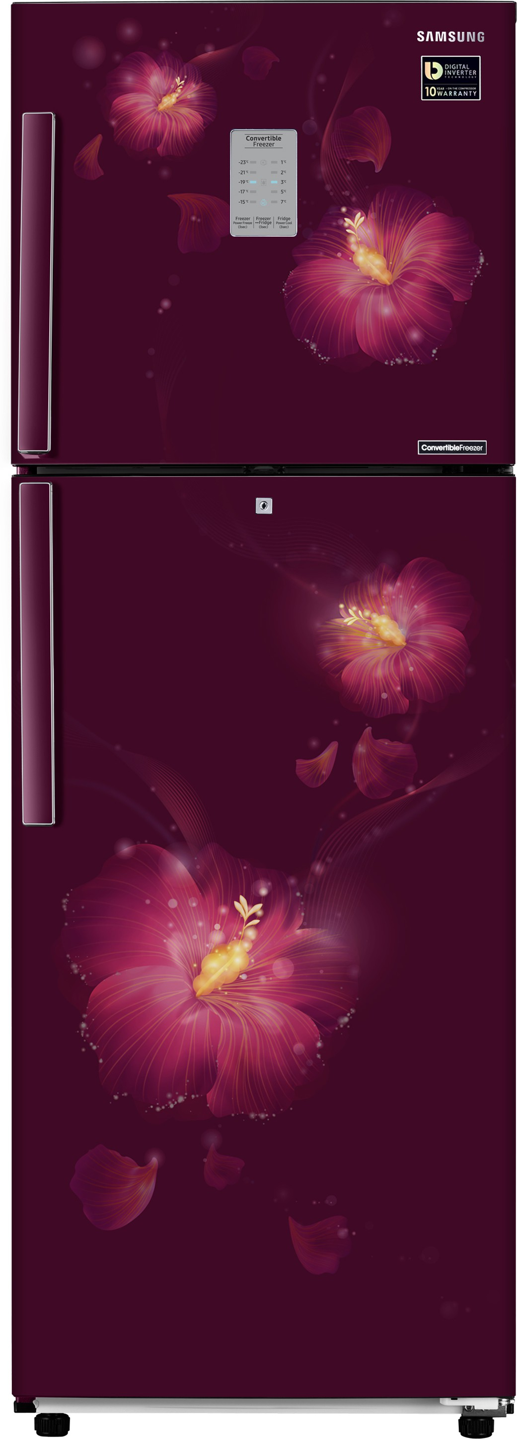 Samsung 253 L Frost Free Double Door Refrigerator(RT28M3954R3/NL,RT28M3954R3/HL, Rose Mallow Plum, 2017) (Samsung) Tamil Nadu Buy Online