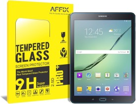 affix Tempered Glass Guard for Samsung Galaxy Tab S2 [T-810, T-813N, T-815, T-819N] [9.7 Inch]