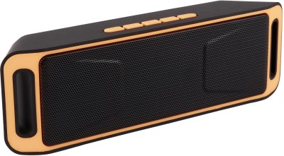 Yuvan Inext IN - 515 FM Portable Bluetooth Mobile/Tablet Speaker(Yellow, 2.0 Channel)