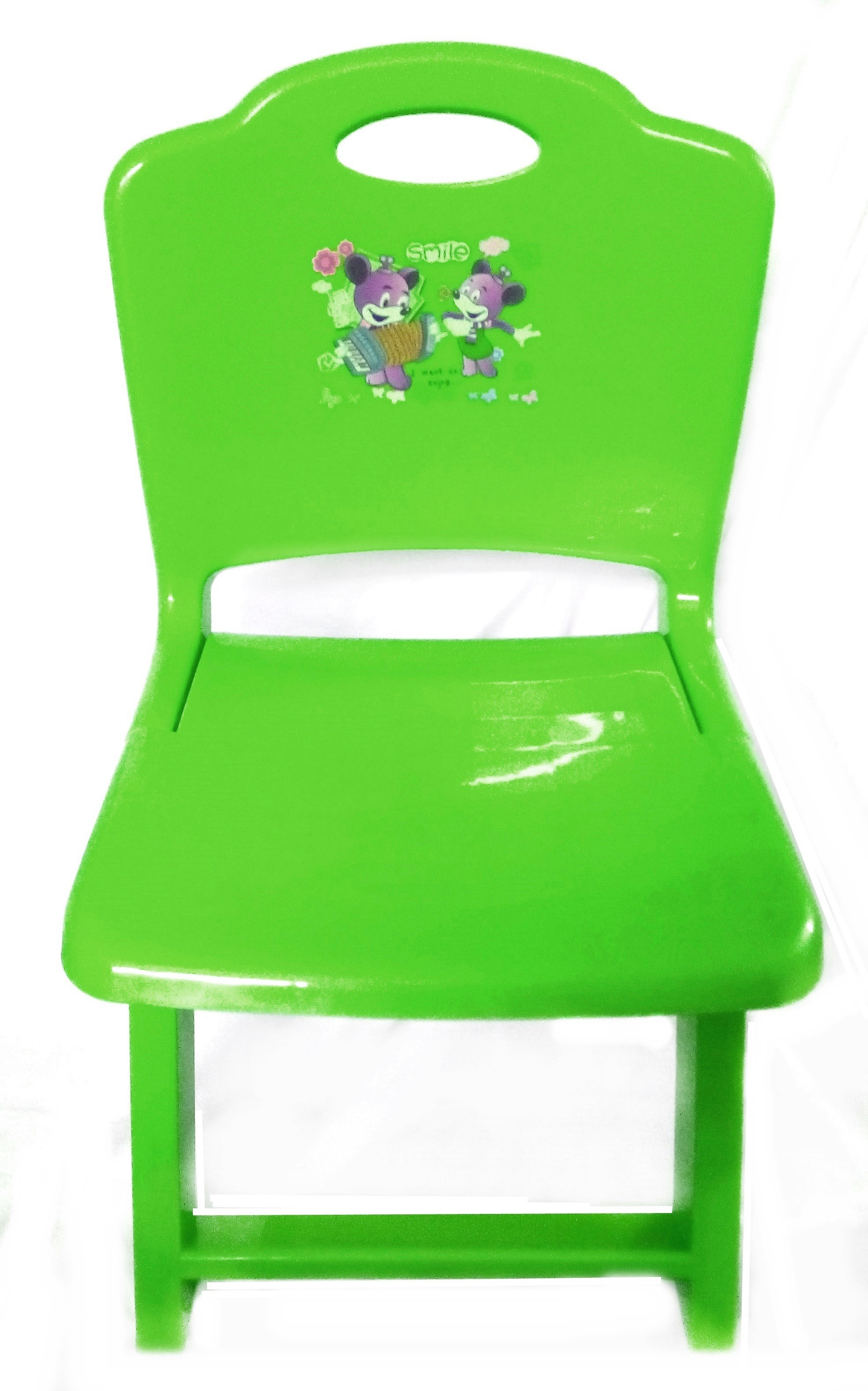 View Palakz Kids Foldable Plastic Chair(Finish Color - Green) Furniture (Palakz)