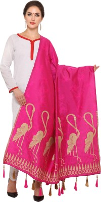 Kmozi Art Silk Woven Women Dupatta at flipkart