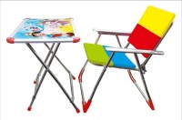 A AND PRODUCTS KIDS Plastic Desk Chair(Finish Color - MULTI)