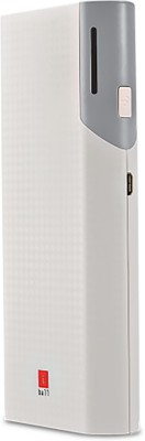 Iball PB-10017 Portable  - Grey / White 10000 mAh Power Bank(White / Grey, Lithium-ion) at flipkart