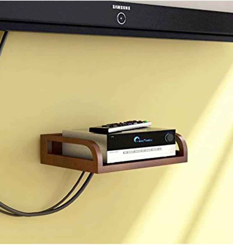 View JaipurCrafts Brown MDF Set Top Box Wooden Wall Shelf(Number of Shelves - 1, Multicolor) Furniture (JaipurCrafts)