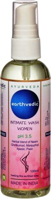 Earthvedic Women Intimate Wash(100 ml, Pack of 1)