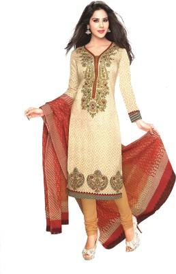 Reya Cotton Printed Dress/Top Material(Un-stitched) at flipkart