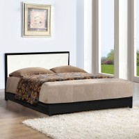 FurnitureKraft Shanghai Metal Queen Bed With Storage(Finish Color -  Black)