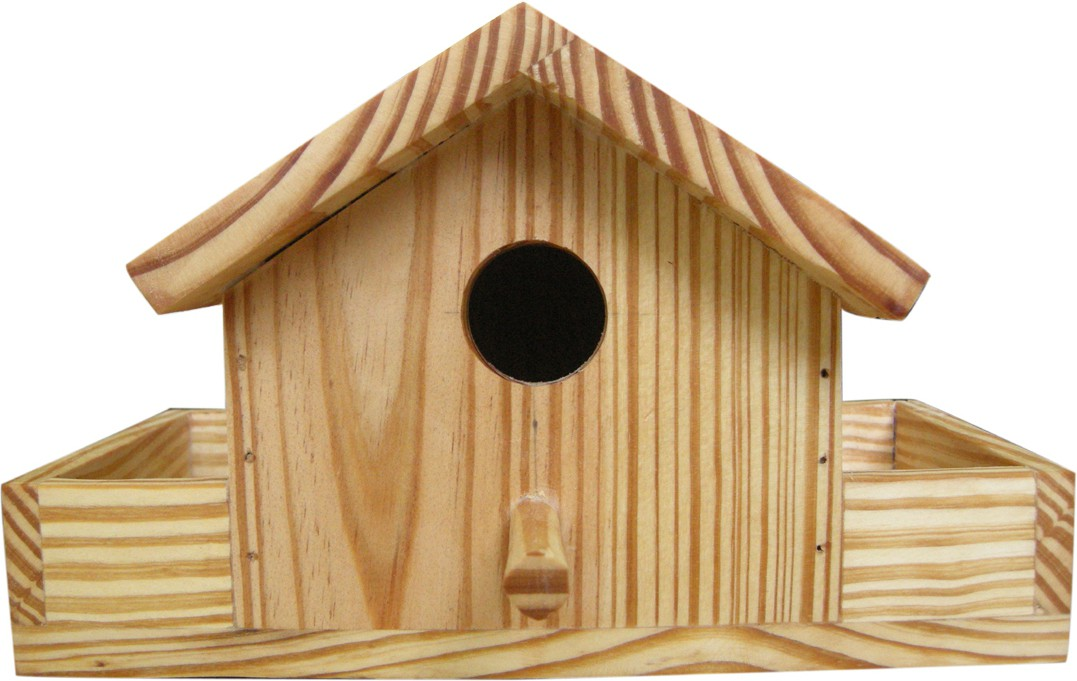 View Birdhousebuilder NB0026 House Sparrow Nest Box Bird House(Wall Mounting, Tree Mounting, Free Standing) Furniture (birdhousebuilder)
