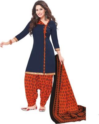 Reya Crepe Printed Salwar Suit Dupatta Material(Un-stitched) at flipkart