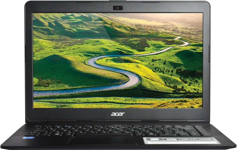 Acer Celeron Dual Core - (2 GB/500 GB HDD/Windows 10 Home) One 14 Notebook(14 inch, Black, 1.65 kg)