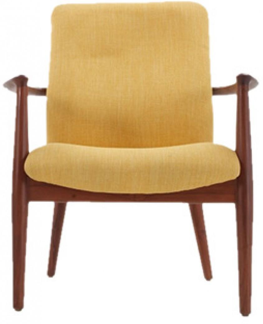 View HOF Aaram Fabric Office Arm Chair(Yellow) Furniture (HOF)