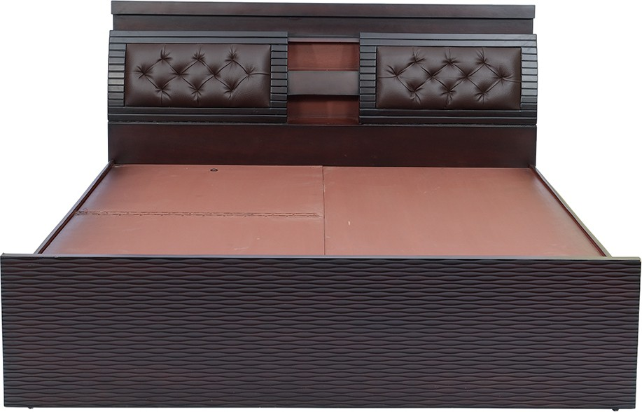 View shop klass Engineered Wood King Bed With Storage(Finish Color -  brown) Furniture (shop klass)