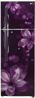 LG 260 L Frost Free Double Door Refrigerator(GL-T292RPOY, Purple Orchid, 2017)