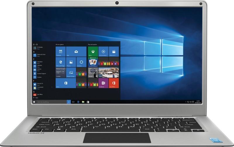 Lava Helium 14 Atom Quad Core - (2 GB/32 GB EMMC Storage/Windows 10 Home) C141 Notebook(14.1 inch, Silver, 1.45 kg)