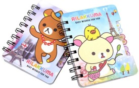 COI Pocket-size Diary(Coi Paris teddy diary for kids (pack of 2), Multicolor, Pack of 2)