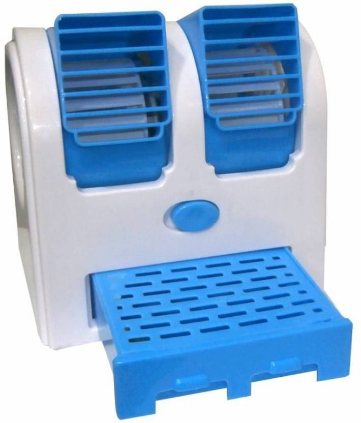 View Defloc Mini Bladeless Air Cooler MF37 0 Blade Table Fan(Multicolor) Home Appliances Price Online(Defloc)