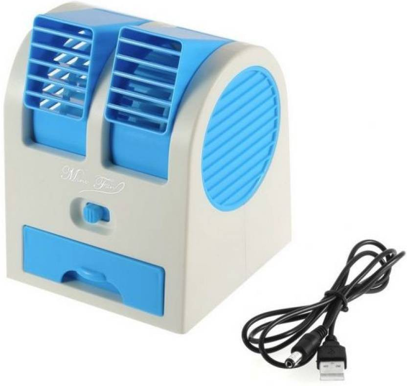 View Defloc Mini Bladeless Air Cooler MF27 0 Blade Table Fan(Multicolor) Home Appliances Price Online(Defloc)