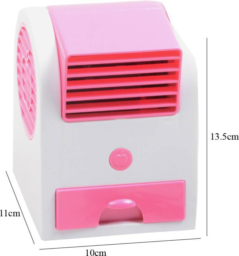 View Defloc Mini Bladeless Air Cooler MF55 0 Blade Table Fan(Multicolor) Home Appliances Price Online(Defloc)