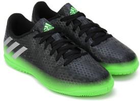 Adidas Boys Lace Football Shoes(Black)