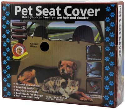 Dragon Black Durable Nylon Hammock Pet Seat Cover(Black Waterproof)