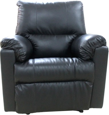 Amey Leatherette Manual Recliners(Finish Color - Black)