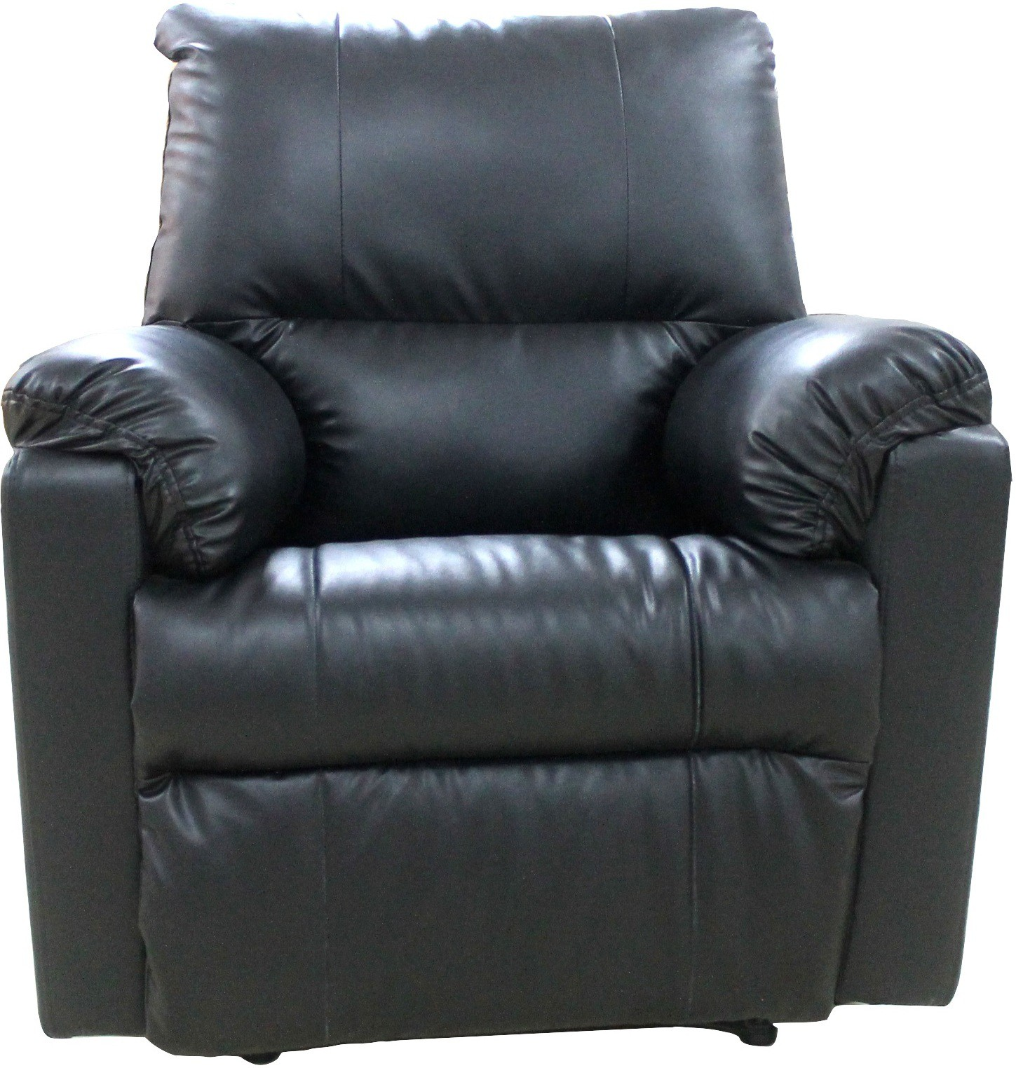 View Amey Leatherette Manual Recliners(Finish Color - Black) Furniture (Amey)