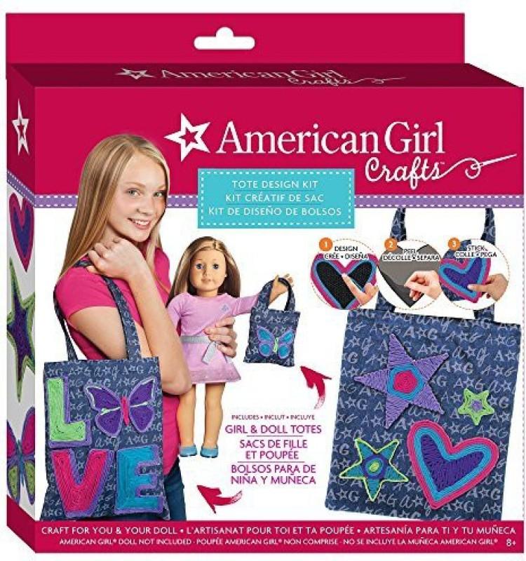 American Girl Tote Bag Design Kit
