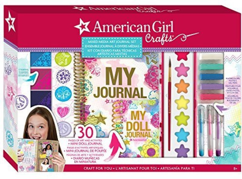American Girl Mixed Media Art Journal Set