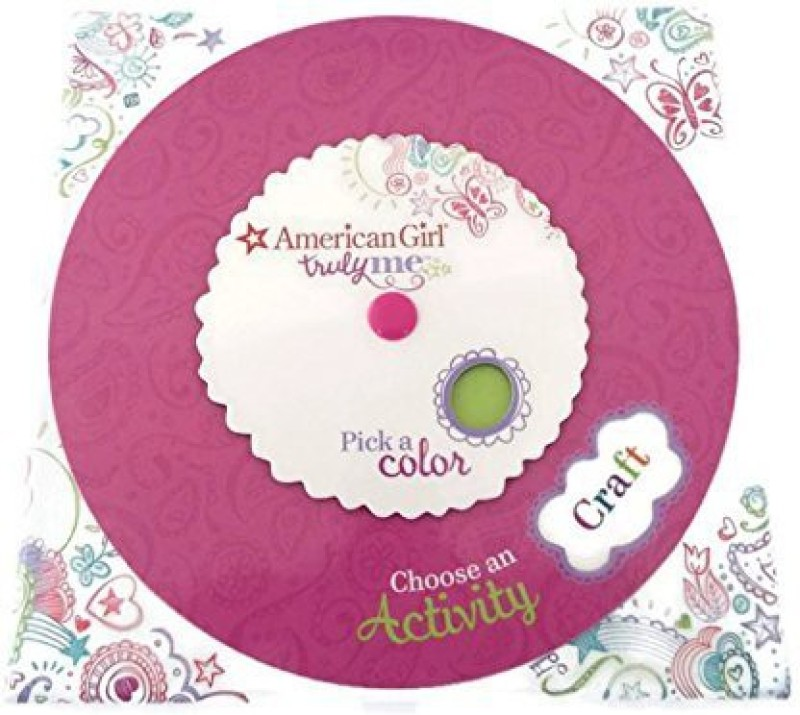 American Girl Truly Me Activity Card Set ~ Game ~ Craft Ideas