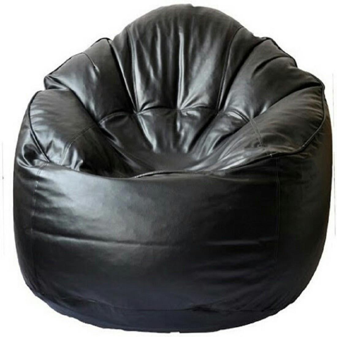 View Sultaan XXXL Bean Bag Cover(Black) Furniture (Sultaan)