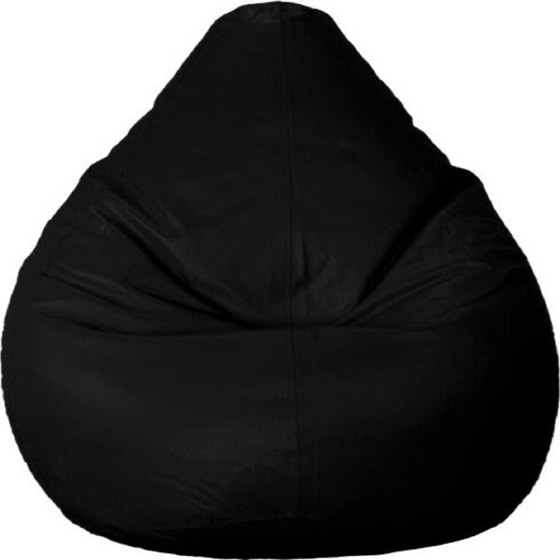 View Sultaan XXL Bean Bag Cover(Black) Furniture (Sultaan)