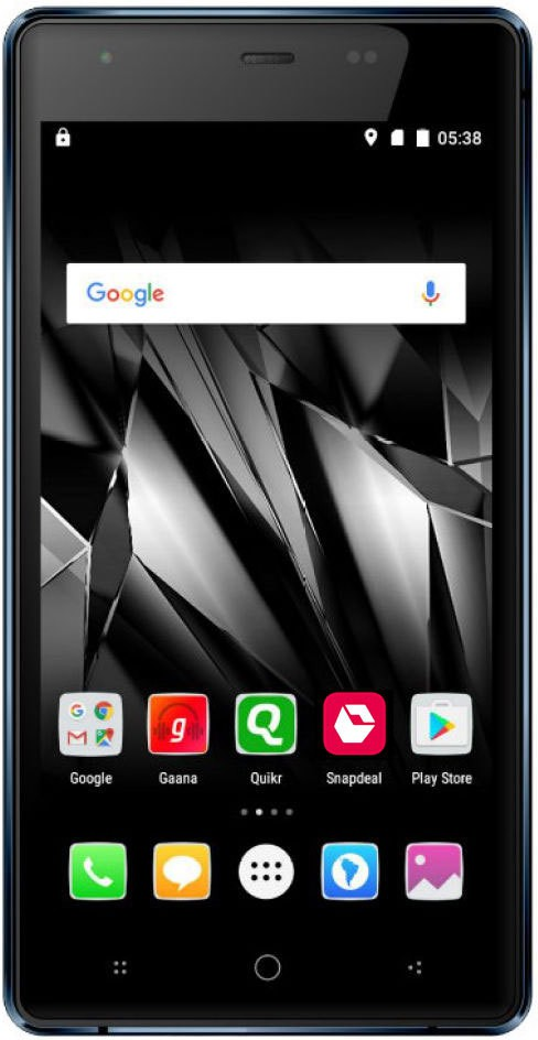 View Micromax Canvas 5 Lite Q462 (Brown, 16 GB)(2 GB RAM) Mobile Price Online(Micromax)