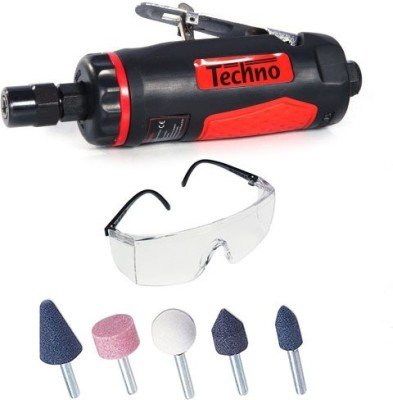 Techno PNEUMATIC AIR DIE GRINDER 1/4 (6MM) Rotary Tool(6 mm)