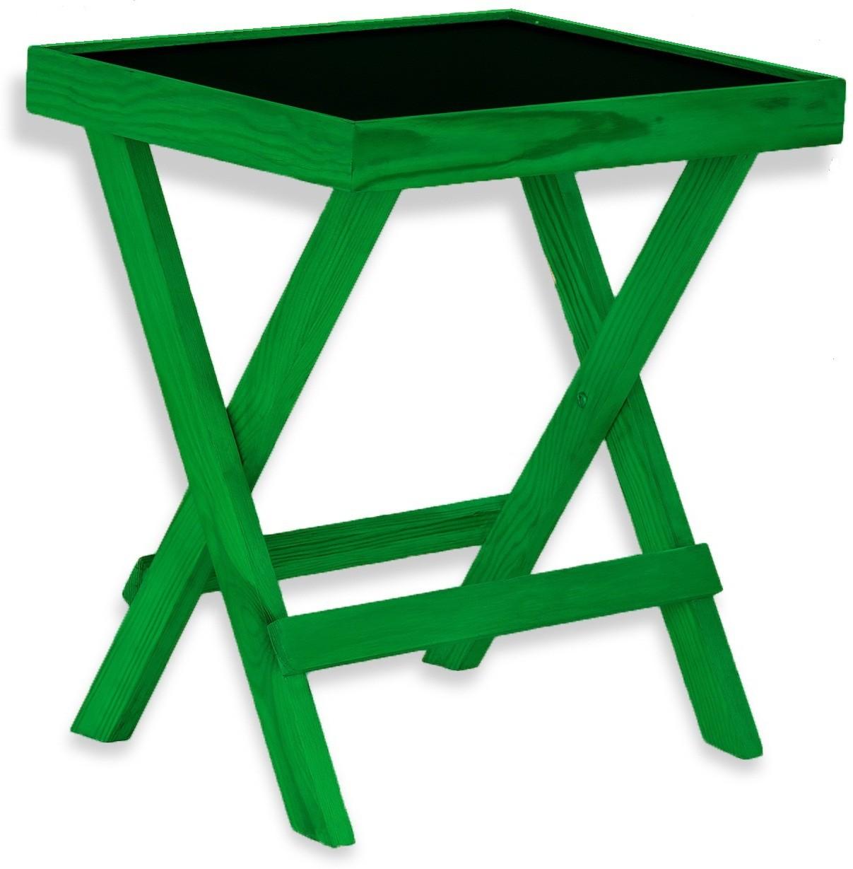 View NETWOOD DESIGNER GREEN Solid Wood Side Table(Finish Color - Green Matte Finish) Furniture (Netwood Designer)