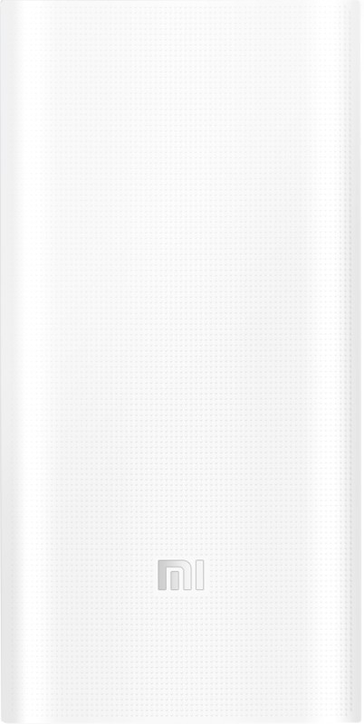Mi PLM05ZM 20000 mAh Power Bank(White, Lithium Polymer)