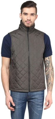 The Vanca Sleeveless Solid Men's Jacket